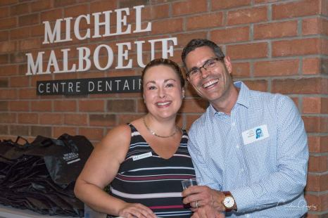 Marie-Eve Castonguay et Michel Malboeuf