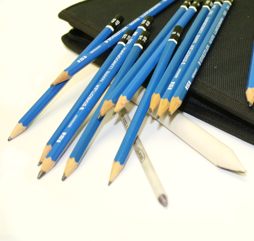 crayons graphite