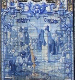 Azulejos eglise detail